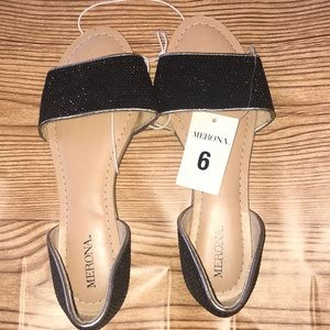 Black sequence flats